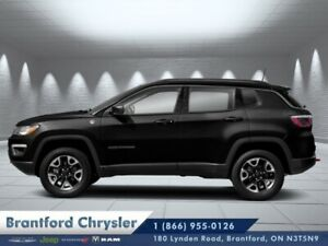 2019 Jeep Compass Trailhawk  - Leather Seats - $223 B/W