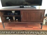 Wallnuts tv stand very nice and new