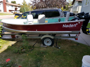 14ft Nadan boat with ALLOT of extras.