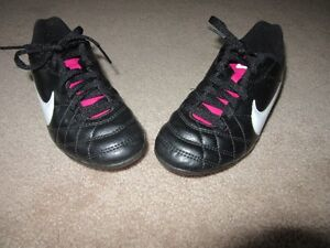 Nike Soccer Cleats. Childs Size 13.