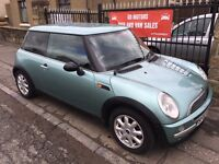 MINI ONE 1.6 (02) 84000 MILES, 1 YEAR MOT,WARRANTY , IMMACULATE £1495