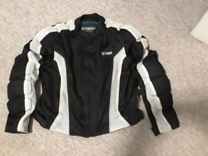Women's Yamaha Motorcycle Jacket (Mess With Inner Shell)