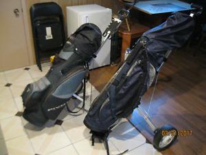 Sacs de golf et chariot