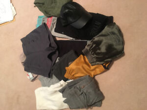 *****FOR SALE **LOTS OF NAME BRAND CLOTHING** Small sizes