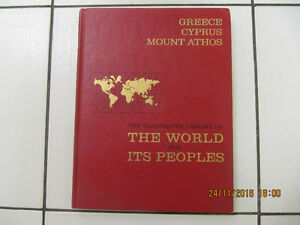 Iconic Greece Cyprus Mount Athos The World & Its Peoples Cir1964