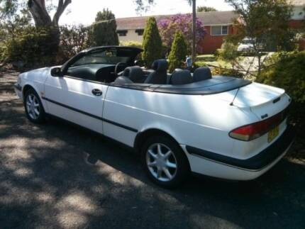 SAAB 900 CONVERTIBLE WITH LOW KILOMETRES Yowie Bay Sutherland Area Preview