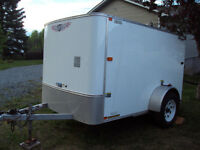 Great little 8 x 5 Enclosed Trailer