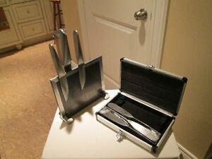 6 PC. STEAK KNIFE SET W/ CASE
