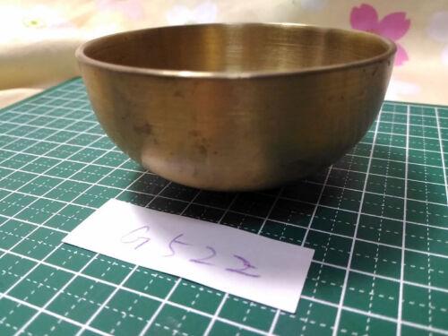 "2.933"" Japanese Vintage Buddhist Bell G522 Good Sound"