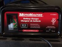 Motomaster 6/2 amp battery charger