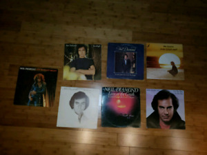 7 disques Vinyles de Neil Diamond