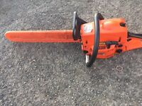 Petrol chainsaw 20 inch bar great condition starts first time