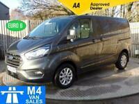 2019 Ford Transit Custom Limited 280 SWB Auto Euro 6 SWB Panel Van Diesel Automa