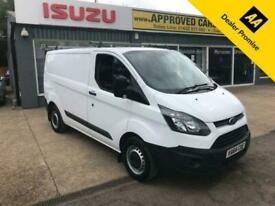 2014 Ford Transit Custom 2.2 270 S/W/B LOW ROOF CUSTOM, DIRECT FROM A LARGE LEAS