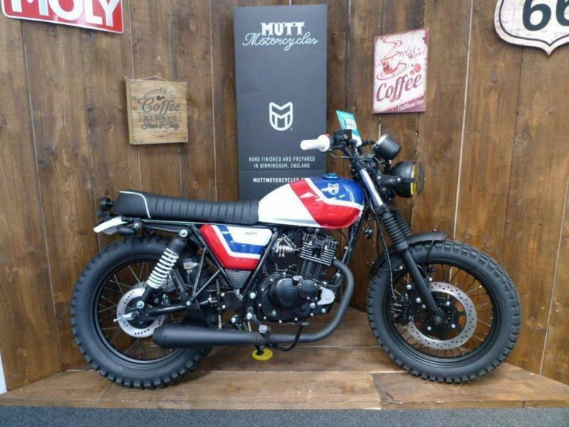 Mutt Custom Special Baja 125cc Brand New In Bournemouth