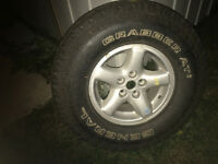 Tire + YJ Jeep mag