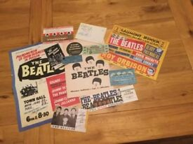 THE BEATLES A GREAT COLLECTION OF VERY INTERESTING AND VARIOUS ITEMS A TOTAL OF 20 AMAZING ITEMS.