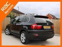 2008 BMW X5 3.0d Turbo Diesel SE 6 Speed Auto 4x4 4WD Pan Roof Sat Nav TV Rear C