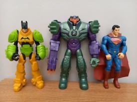 DC figure bundle - Batman/Lex/Superman
