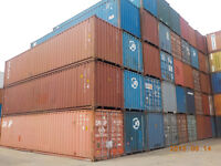 CONTAINERS 40' USED