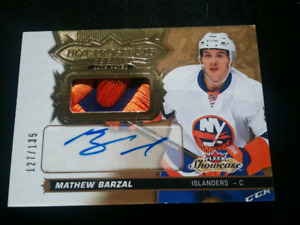 MATHEW BARZAL AUTO PATCH RC #127-135