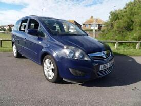 2013 63 VAUXHALL ZAFIRA 1.6 EXCLUSIV 5DR BLUE