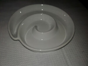 Round , Spiral Design, Serving Bowl