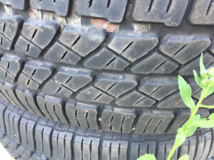 Set of 4 tires, 195-60 -15, Summer continental M+S Only for $100