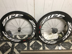 Zipp Full Carbon Clencher Wheels Great Condition