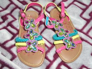 Baby girl summer sandals and shose  excellent shape clean cute