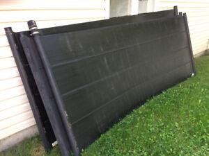 3 Panneaux solaires pour piscine Techno-Solis