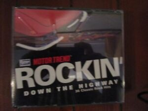 ROCKIN' DOWN THE HIGHWAY. 36 Classic Rock Hits on 3 CD's.