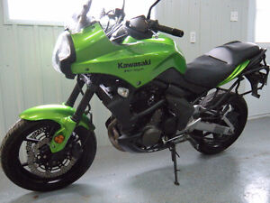 KAWASAKI KLE-650 VERSY'S   2 cylindres (aventure)