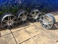Audi TT alloy wheels