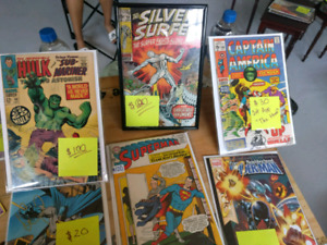 Garage sale updated! Comics, toys, tables, art, jewelry