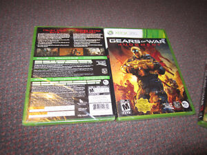 XBox 360 Games - Gears...3, Gears ... Judgment, Halo 3 - ODST