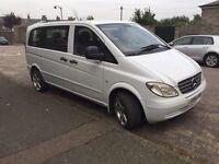 Mercedes vito 9 seats