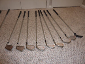 Golf Clubs - Irons and Bag
