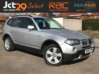 2007 57 BMW X3 2.0 D SE 5D 148 BHP DIESEL