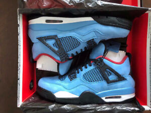 DS Air Jordan 4 Travis Scott size 11