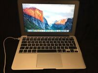 MacBook 11.6' air notebook, early 2015- latest model