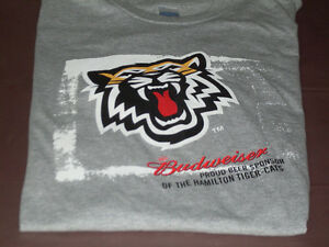CFL Hamilton Tiger-Cats / Budweiser T-Shirt Size XL *NEW*