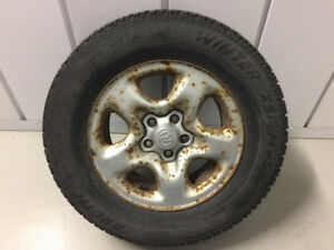 Set of 4 - 225/70R16 Arctic Claw Winter Tires on Toyota Rims