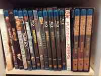 Lot of 65 Blu Ray Movies in Excellent Condition.
