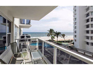 Beach Front Luxurious Condo in Ft.Lauderdale for rent