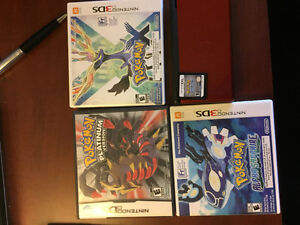 Pokemon games and Nintendo ds lite