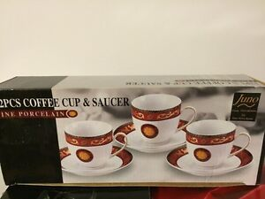 2 sets of coffee cups