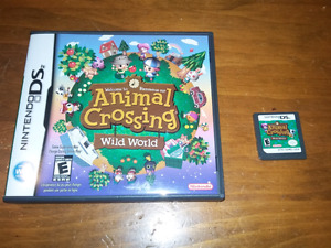 Animal crossing wild world for nintendo ds