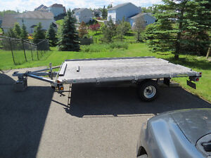 For sale 2 year old Scott galvanized ATV/Utility trailer