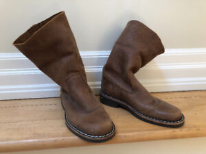 Roots boots - made in Canada